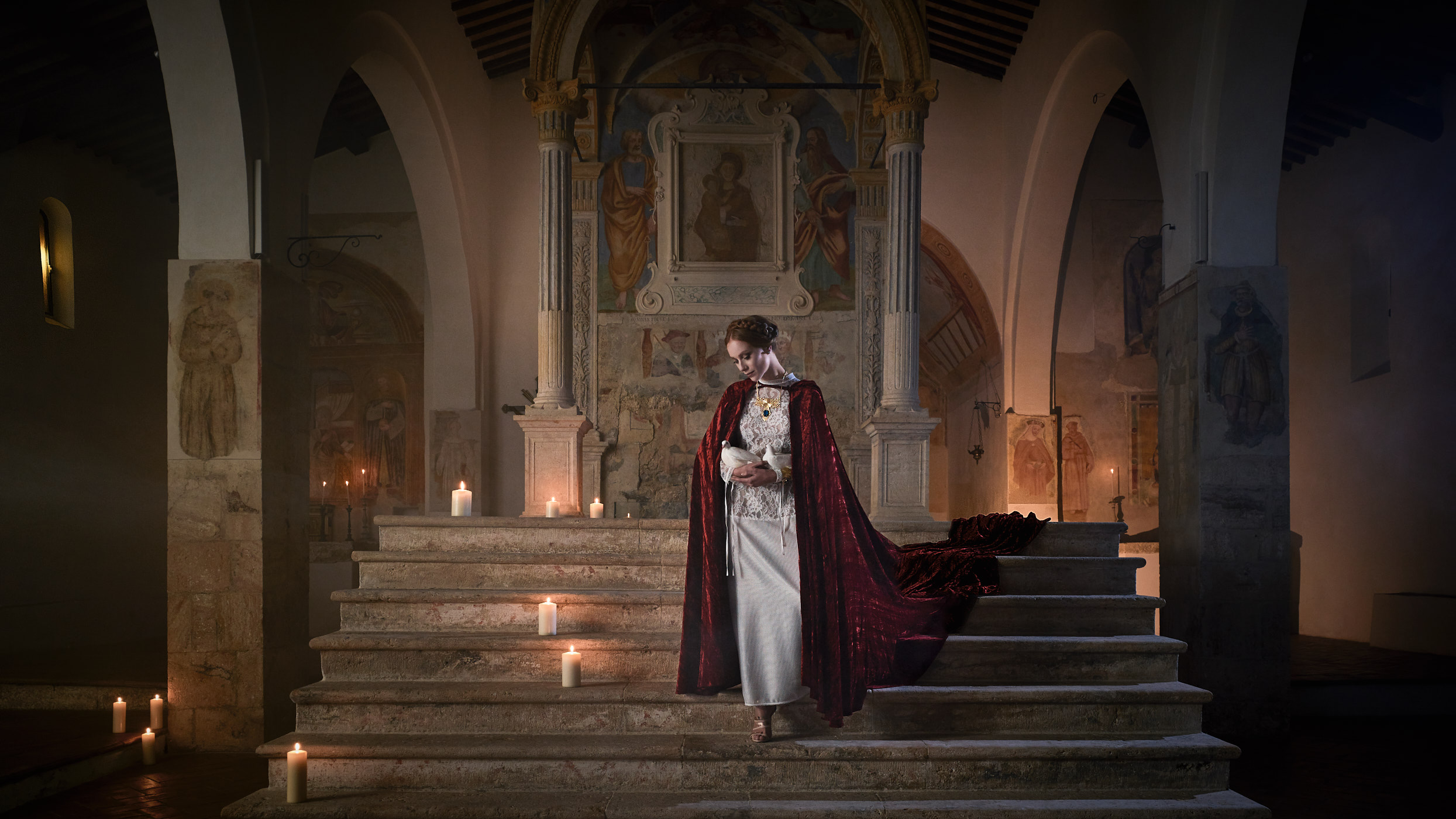 Virgin or Semiramidis? Fonteverde IHC. Tuscany.