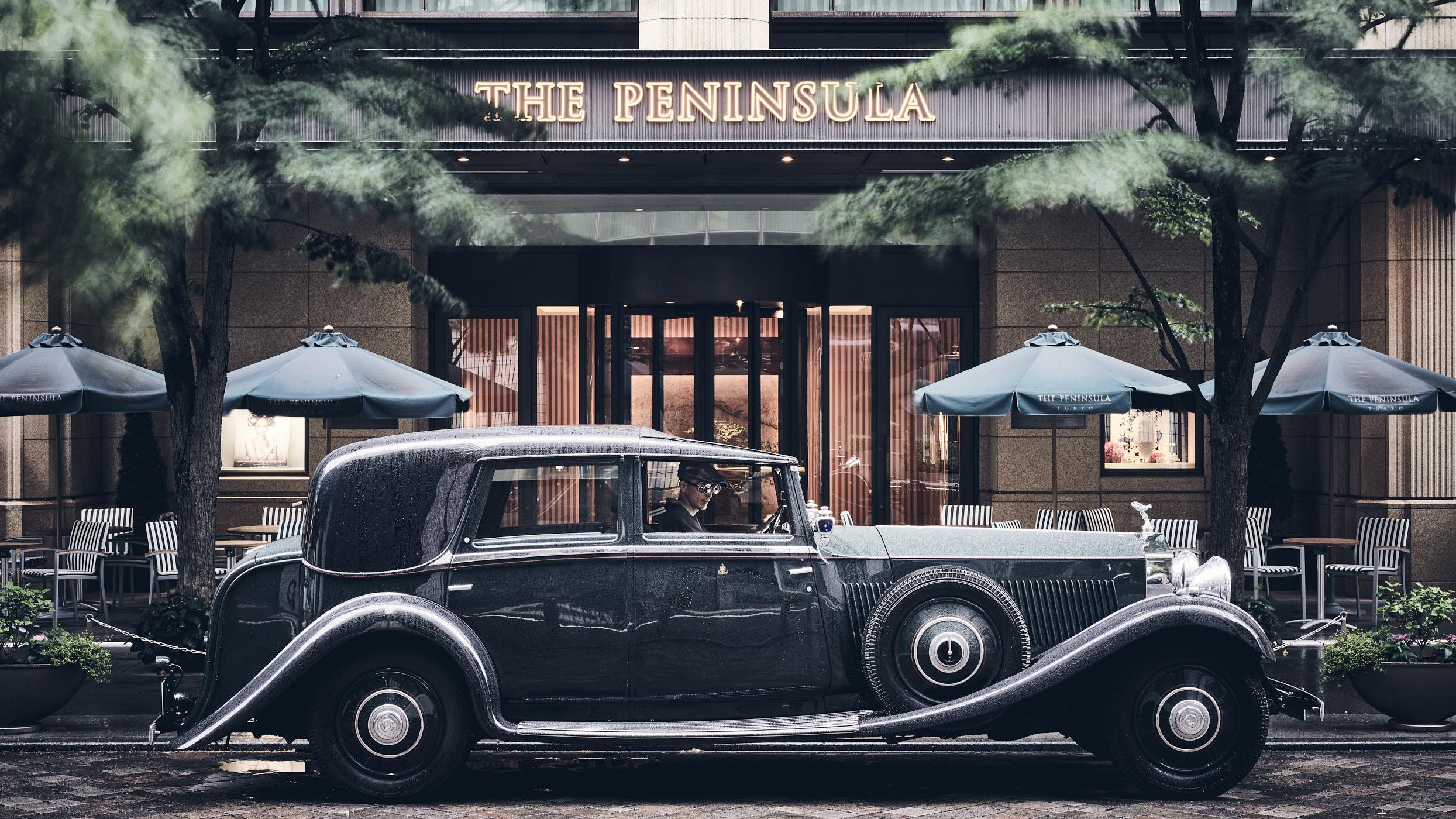 Rolls 1930 at Peninsula Tokyo.