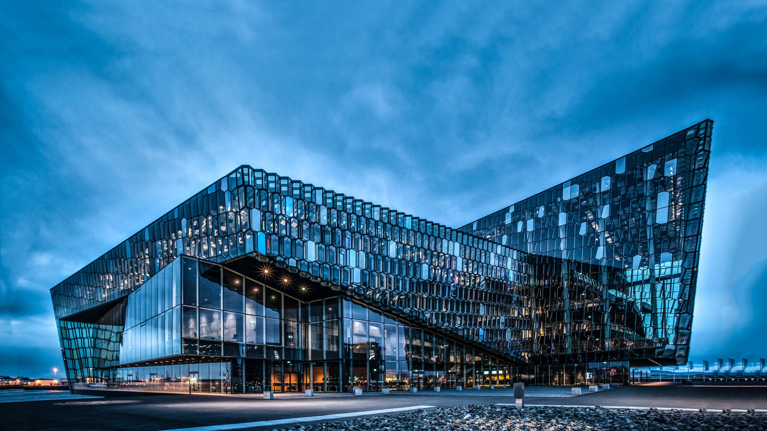 Harpa, Reykjavik.