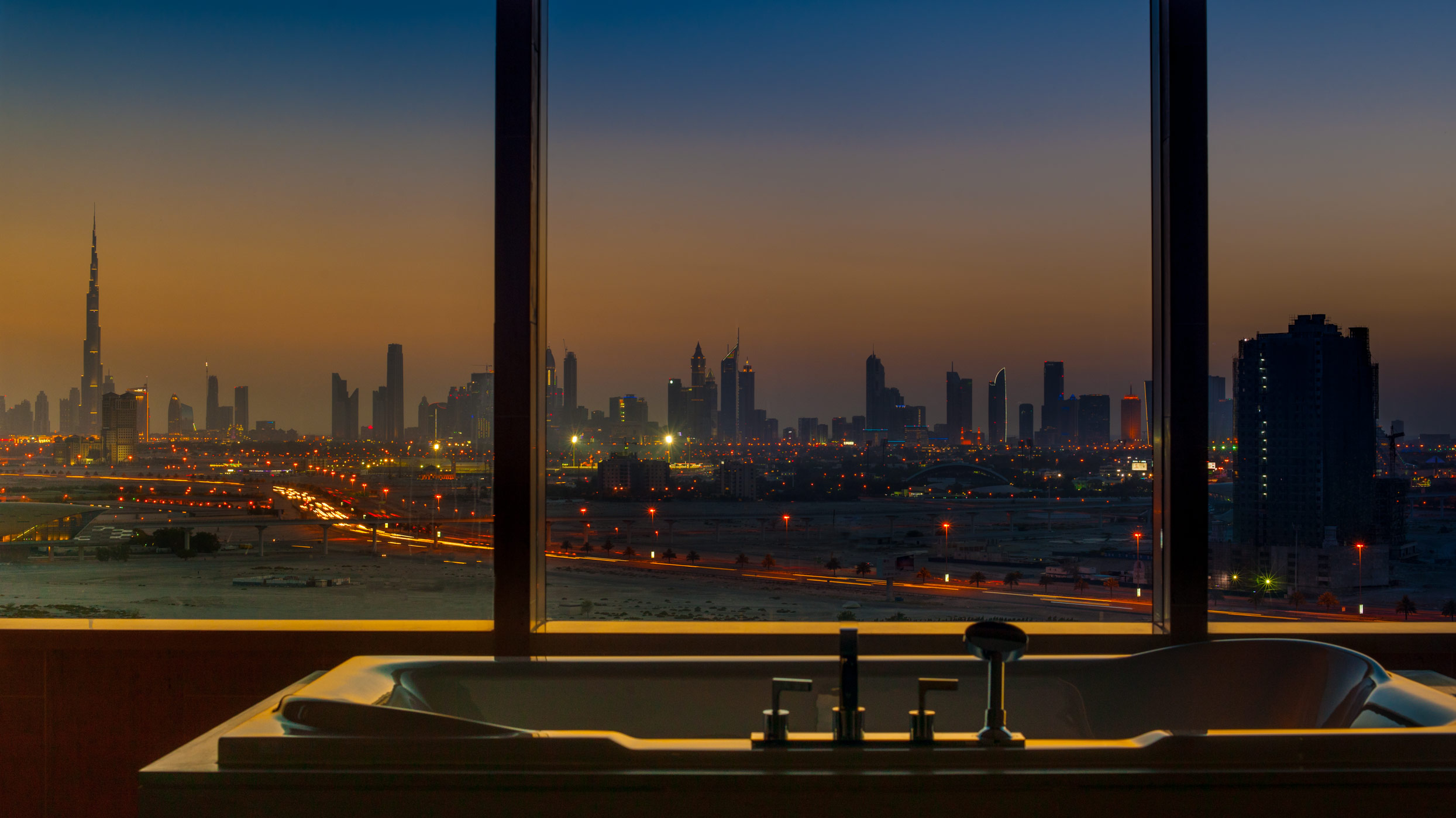 Intercontinental Dubai Festival city.