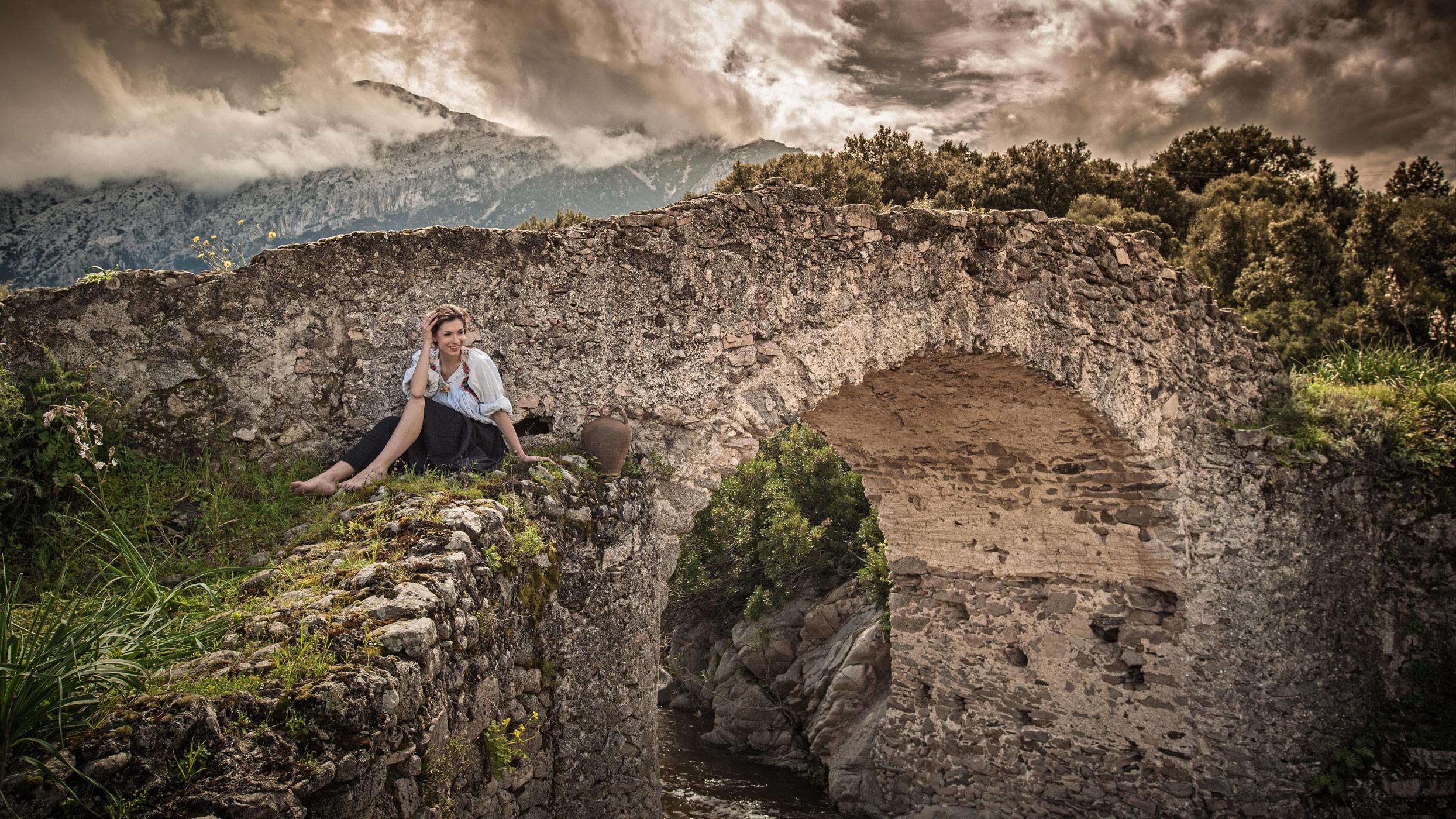 Oliena Sardinia.