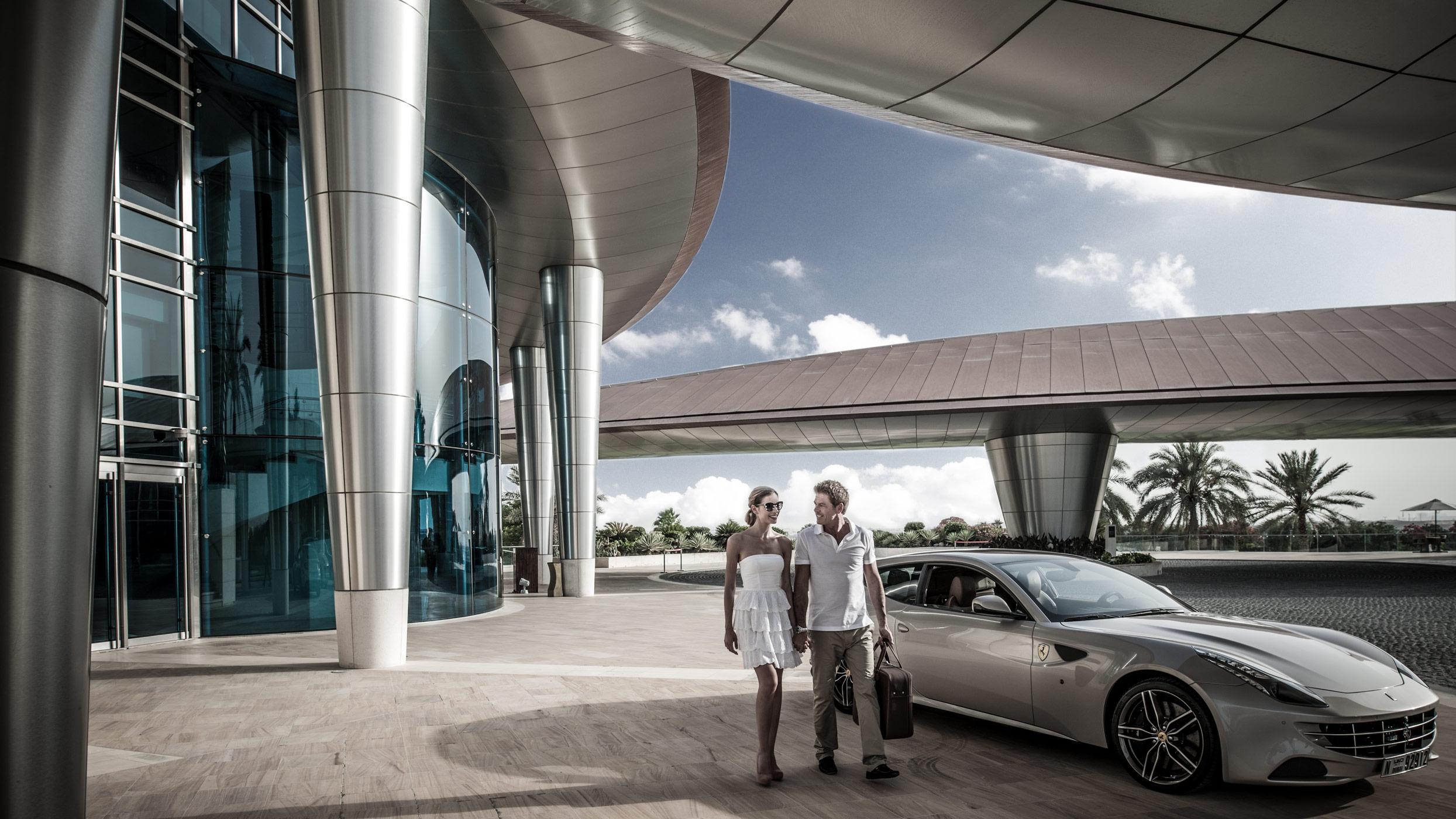 Al Badia Golf Club, Abu Dhabi.