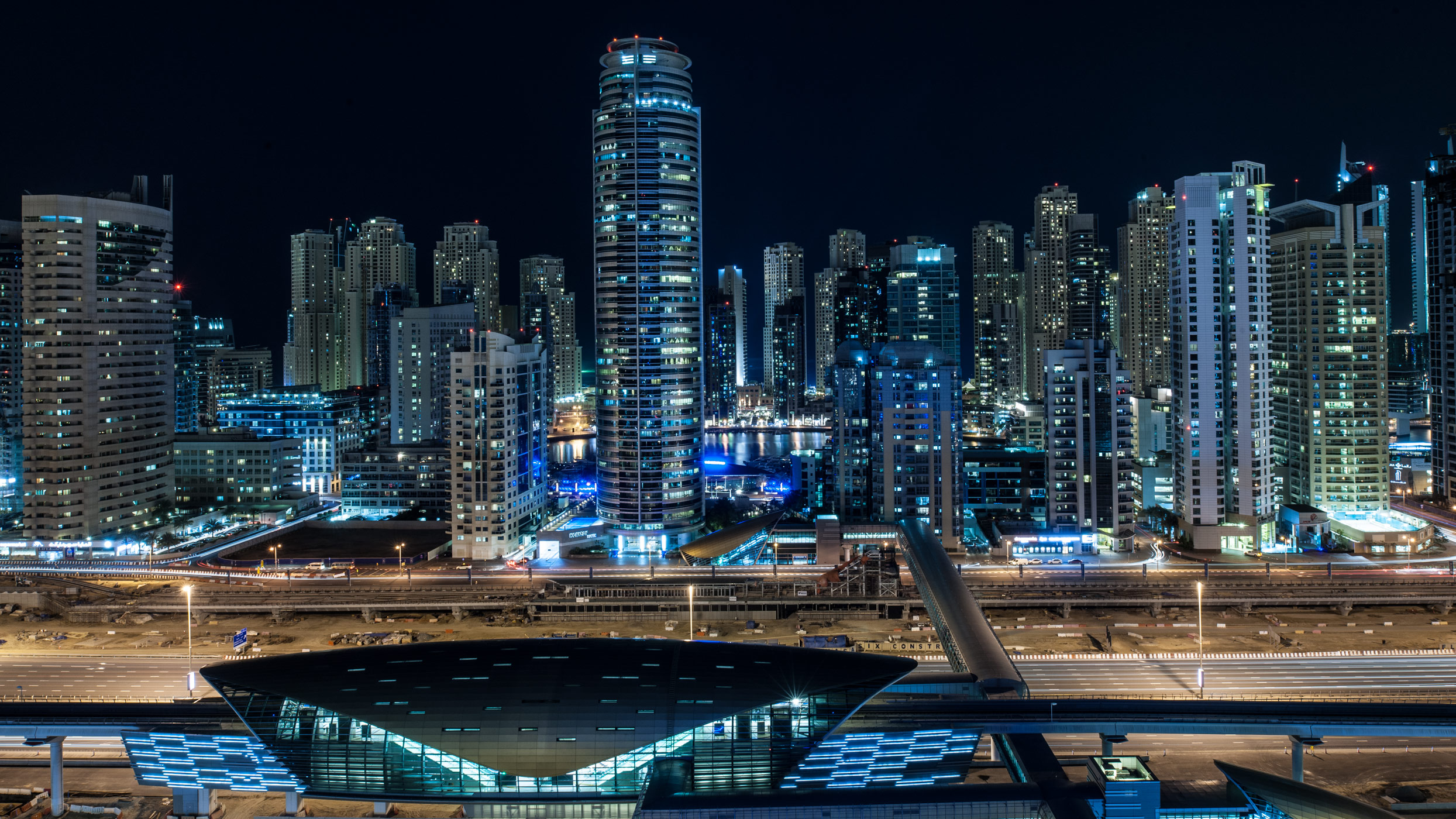 JLT and Marina, Dubai.