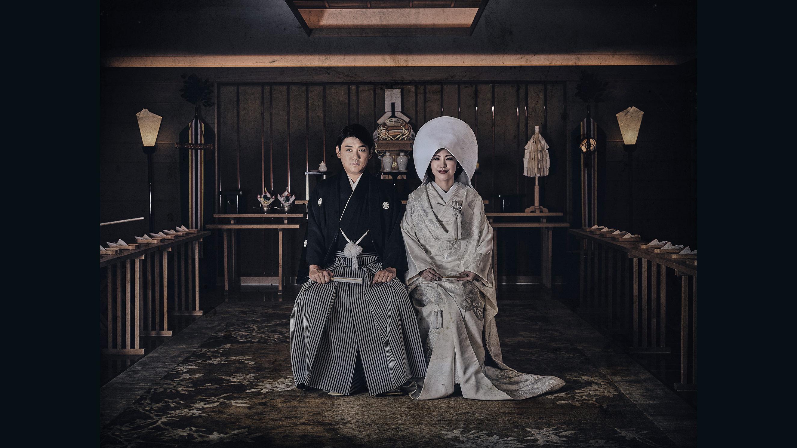 the Shinto wedding, peninsula tokyo.