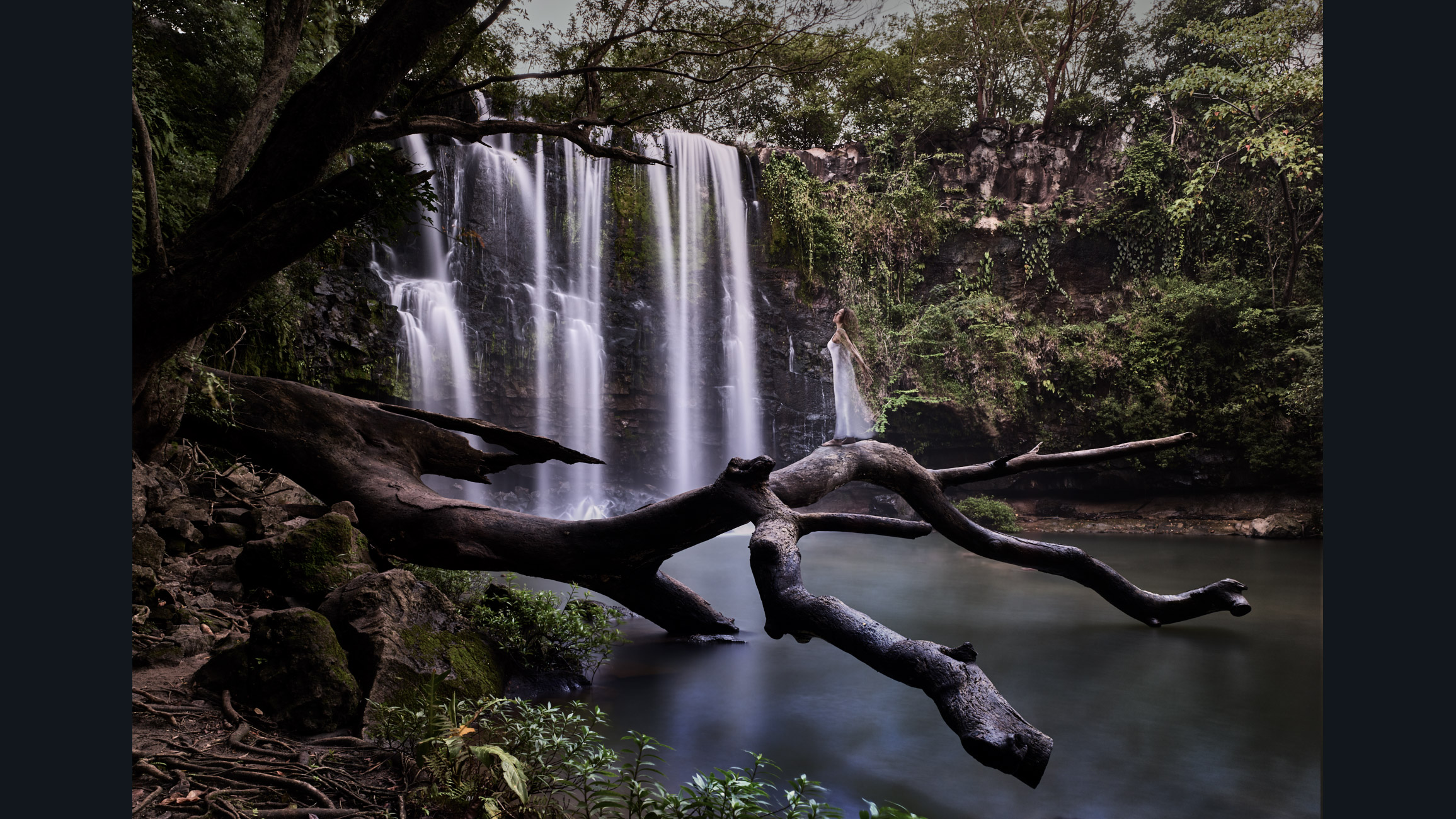 la Ninfa del agua Costarica.